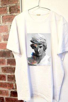 """Life is ART - T-shirt : """" głowa """""""