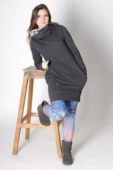dreslove - Sukienka Spring&Roll graphite