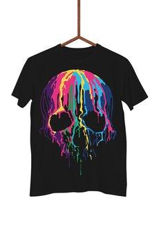 FailFake - Koszulka Czaszka z farby Męska