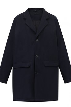 The Hive - PŁASZCZ WOOL COAT IN NAVY