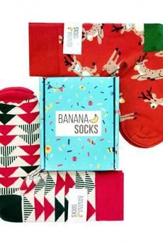 Banana Socks - Zestaw skarpetek świątecznych Christmas Spirit