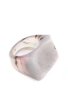 Brazi Druse Jewelry - InspiRING Low Butterfly rozmiar 11