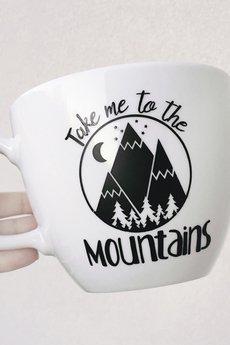 ONE MUG A DAY - Litrowy kubek Take me to the mountains