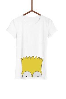 FailFake - Koszulka Przyczajony Bart Damska