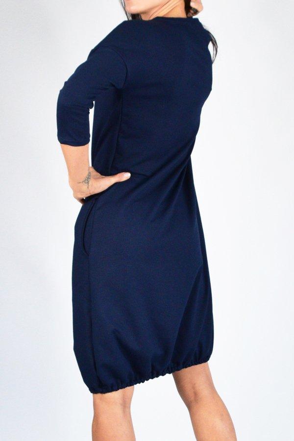 fd78a100ab Sukienki Rękaw 3 4 Sukienki Bawełniane Sukienki Dresowe Sukienki z  Kieszeniami