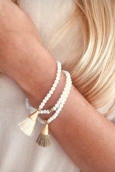 White Sands - Bransoletka z frędzelkiem