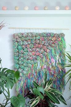 Mj tkaniny - Tkanina z pomponami