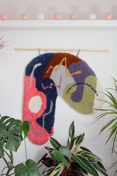 Mj tkaniny - Tuftowany dywan na ścianę
