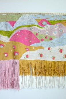 Mj tkaniny - Duża, kolorowa tkanina