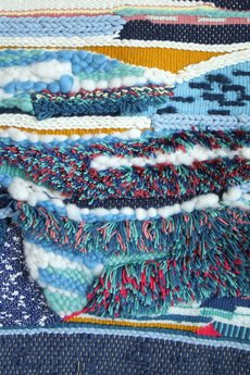 Mj tkaniny - Niebieska tkanina