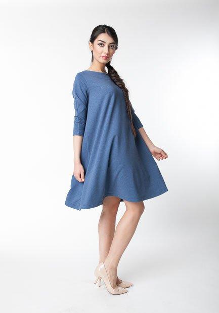 12cc657633 Dzianinowa Sukienka Damska Przed Kolano