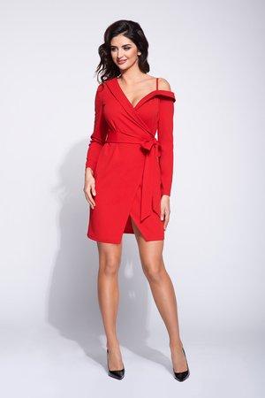 Sukienka wizytowa na jednym ramiączku