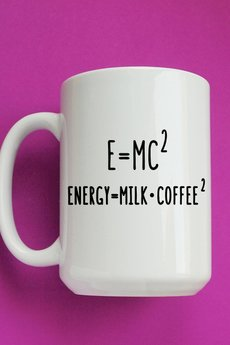 ONE MUG A DAY - E=mc2 450ml