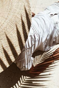 Bala-Lifestyle - Koszulka z nadrukiem Bala Island Tee White