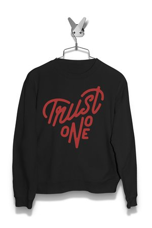 Bluza Trust no one v1 Męska