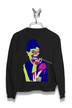 Bluza Audrey Hepburn zombie Damska