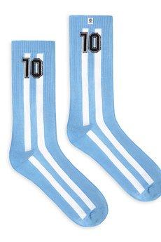 4LCK - 4LCK Skarpetki fanów Piłki - Argentyna numer 10