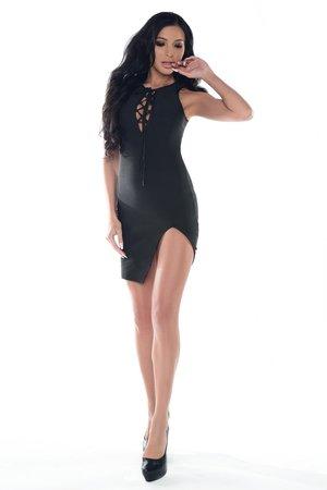 Sukienka czarna Coralie