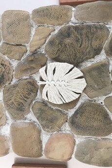 WhiteOwlKnot - Makrama list monstery, makramowe piórko, makramowe liście, makatka
