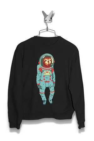 Bluza Leniwiec w kosmosie Męska
