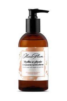 Olivia Plum - Mydło w płynie z olejem arganowym i jedwabiem