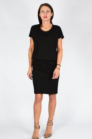 36 - 50 _ MIRIAM _ sukienka dresowa