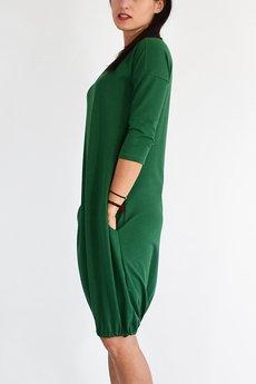 1992aa2964 ... collibri - S - 4XL   MILA   sukienka dresowa bombka ...