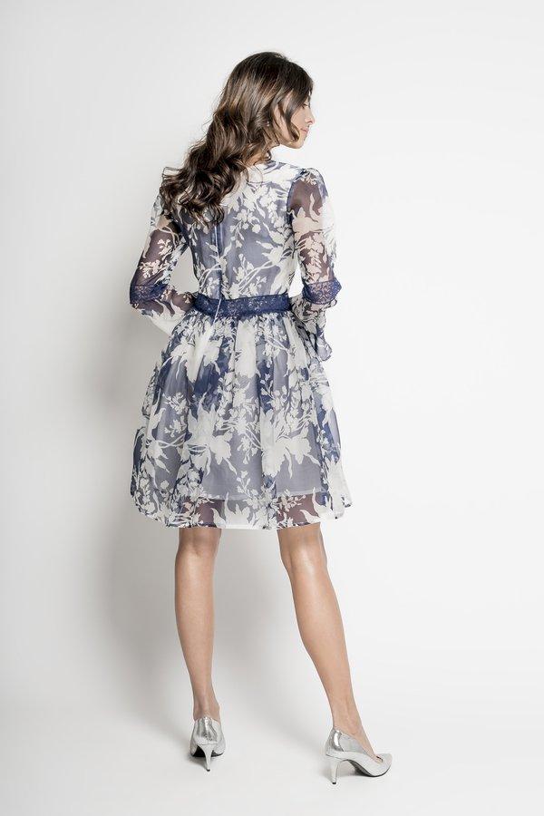 a3ae431892 Sukienki Rozkloszowane Sukienki Eleganckie Sukienki Wizytowe Sukienki z  Dekoltem Sukienki Jedwabne