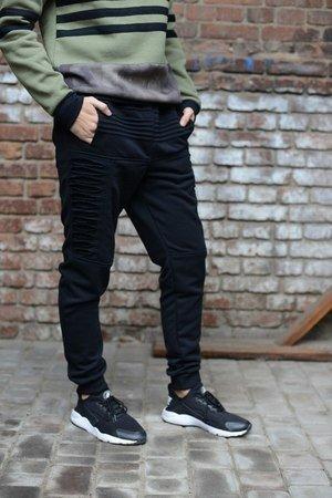 Spodnie dresowe czarne MD