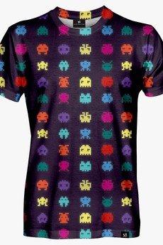 Mars from Venus - Pixel Invader men's t-shirt