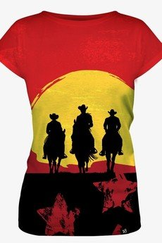 Mars from Venus - Red Dead women's t-shirt