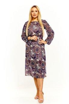 Bird - Wzorzysta sukienka