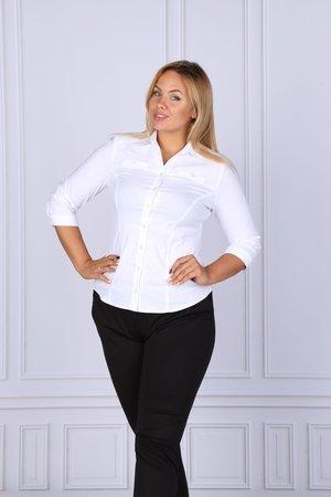 Bluzka damska koszulowa