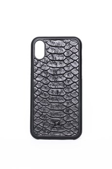"Pytoncase - iPhone X/Xs case ""Black Python"""