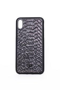 "Pytoncase - iPhone XR case ""Black Python"""