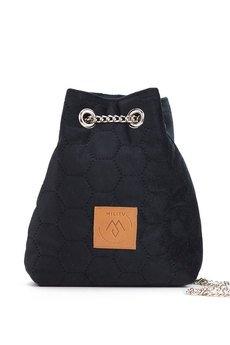 Militu - Mały worek Mili Glam Bag 2 - czarny