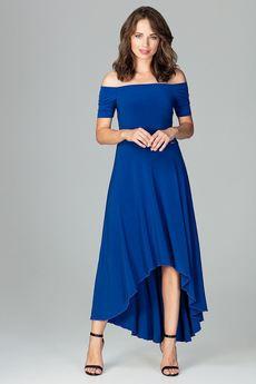 LENITIF - Sukienka K485 Szafir