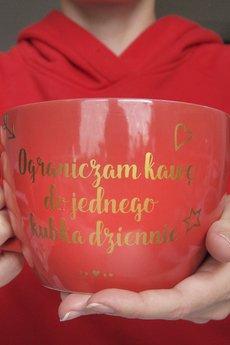 ONE MUG A DAY - Ograniczam kawę Kubas 750ml