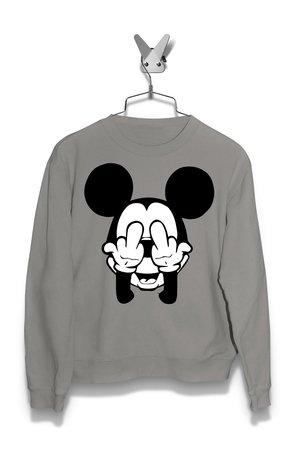Bluza Fuck Mickey Mouse Męska