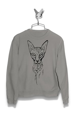 Bluza Czworooki Kot Męska