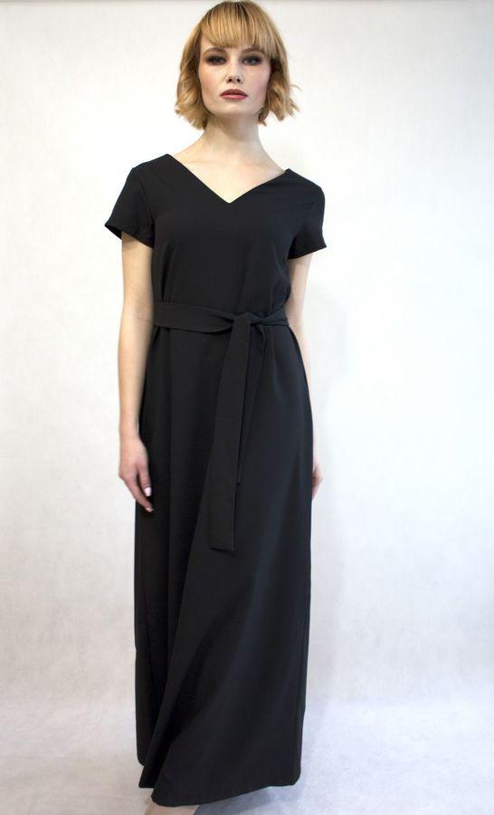 c495df32da Czarna Sukienka Maxi Simplicity Black - Czarny