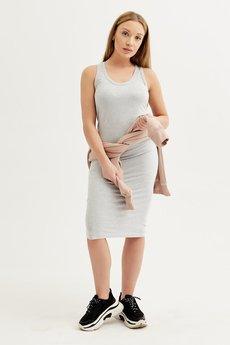 ORTIZ - Sukienka Szara Miss Grey