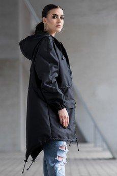REST_FActory - Kurtka / płaszcz typu parka czarna