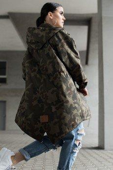 REST_FActory - Kurtka / płaszcz typu parka moro