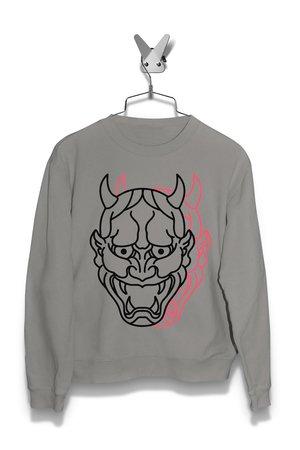 Bluza Japoński Demon Męska