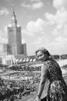 Afish - Widok na Pałac | Plakat Vintage