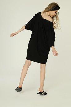 Madnezz - Sukienka Nelly - czarna