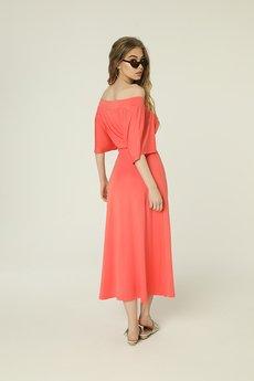 Madnezz - Sukienka Evie - koral