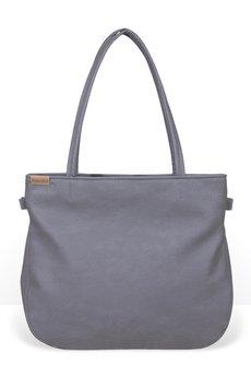 hairoo - Pacco bag szara torba z teksturowanego materiału