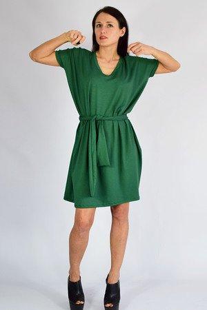 ANA - sukienka _ bordowa